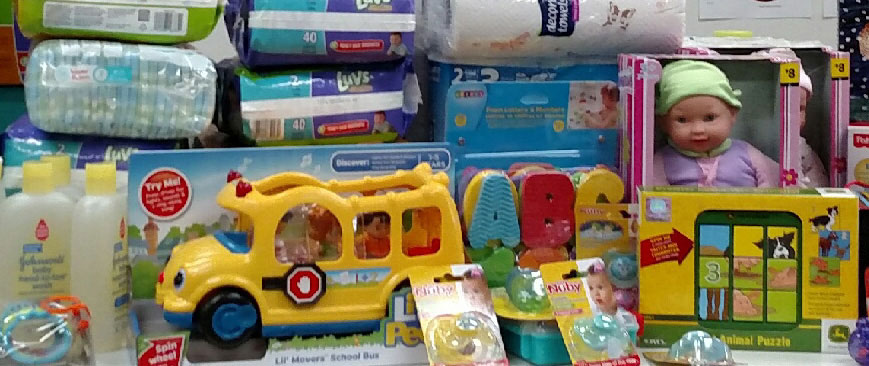 toys for donation drive